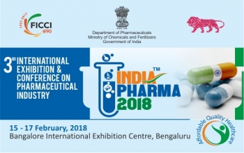 INDIA PHARMA and MEDICAL DEVICE, 15-17 February 2018