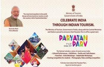 Tourism seminar at the Embassy of India in Buenos Aires. 25th October, 2017. ParyatanParv