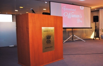International Womens Day 2017 was celebrated in the Embassy of India in Buenos Aires