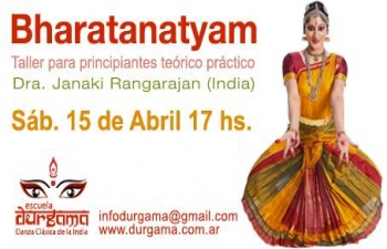 Dr. Janaki Rangarajan an international dancer and a teacher gave seminar on Dance and Classical Singing of India during her visit to Buenos Aires