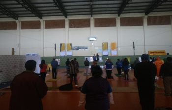 Celebrations of International Day of Yoga 2018 in Asuncion, Paraguay