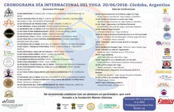 Celebrations of International Day of Yoga 2018 in Cordoba, Argentina