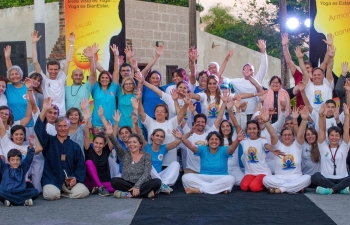 Celebrations of International Day of Yoga 2018 in Bella Vista, Corrientes, Argentina