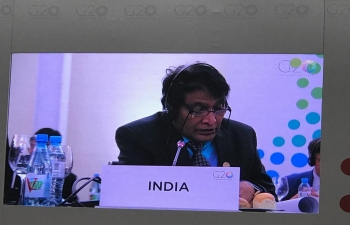 Honorable Commerce and Industry Minister of India, Shri Suresh Prabhu attended G 20 Trade Ministers Meeting at Mar del Plata, Argentina