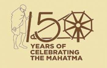 Celebrations of  150th birth anniversary of Mahatma Gandhi