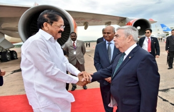 Vice President of India, H.E. Shri Venkaiah Naidu visits Paraguay