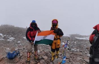 Kaamya Karthikeyan made India proud, unfurling the tricolor at Mount Aconcagua