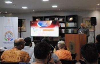 Indian community in Argentina joined the Embassy to celebrate Pravasi Bharatiya Divas
