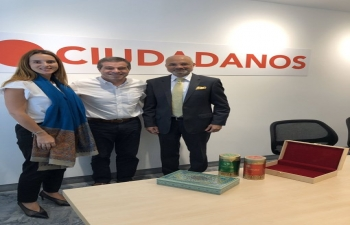 Meeting with Uruguayan Foreign Minister designate Ernesto Talvi