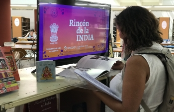 India Corner is established at the National University of Cuyo