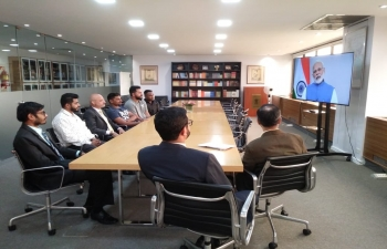 Members of Indian community in Buenos Aires joined Ambassador Dinesh Bhatia at the Embassy