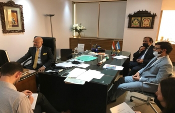 As part of India and the World Series of Confederation of Indian Industry, Ambassador Dinesh Bhatia presented the challenges and opportunities in post COVID-19
