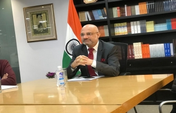 Interesting exchange on facets of Indian Foreign Policy with India specialists of Grupo de Estudios sobre India y el Sudeste Asiático de Rosario and CONICET