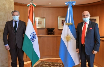 Meeting with Foreign Minister Felipe Solá