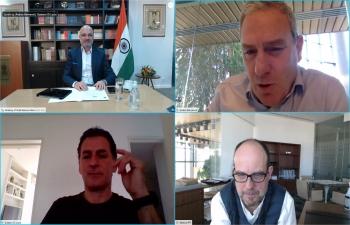 Ambassador Dinesh Bhatia had virtual discussions with YPF representatives