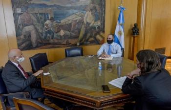 Meeting with Minister Martín Guzmán