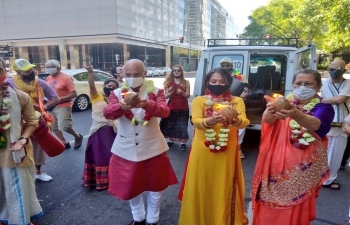 Ratha Yatra in Buenos Aires