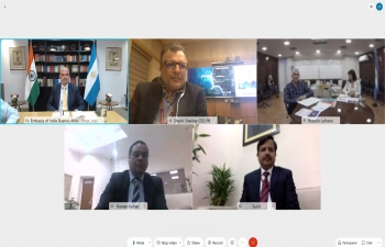 First meeting of CEOs of Prasar Bharati & TV Pública