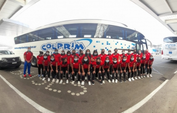 Indian Eves, the Indian women's hockey team, arrived in Argentina