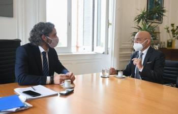 Meeting with Santiago Cafiero