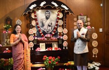 Ambassador Dinesh Bhatia joined celebrations of Sri Ramakrishna's birthday at Ramakrishna Ashrama Argentina