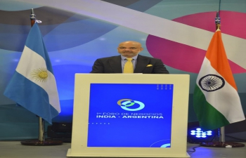 Ambassador Dinesh Bhatia joined Matías Kulfas, Minister of Ministerio de Desarrollo Productivo to inaugurate 1st Business Forum organised by India Argentina Business Council