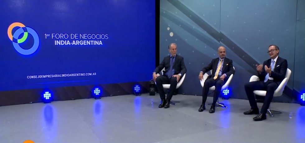 1st Business Forum organised by India Argentina Business Council