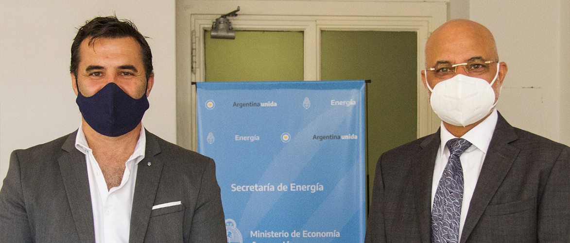 Productive meeting held with Energy Secretary Darío Martínez