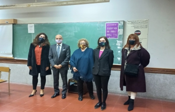 Ambassador Dinesh Bhatia visited Universidad Nacional de Rosario and presented the story of India