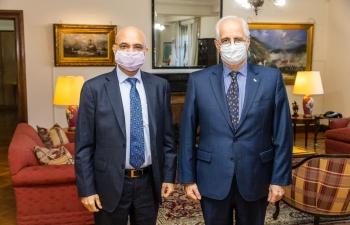 El Embajador Dinesh Bhatia se reunió con el Ministro de Defensa Jorge Taiana y el Secretario Francisco Cafiero en el Ministerio de Defensa